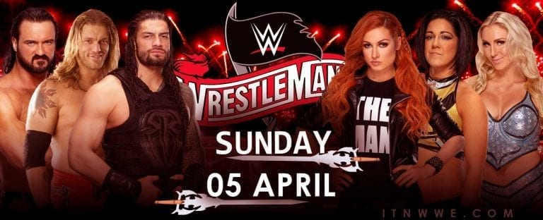 WWE Wrestlemania 36 (2020) Matches, Card, Storyline, Results