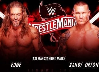 Edge vs Randy Orton WWE WrestleMania 36 2020