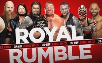 Royal Rumble 2020 Entrants