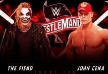 John Cena vs 'The Fiend' Bray Wyatt at WWE WrestleMania 36 2020