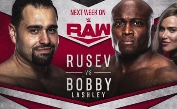 Rusev vs Bobby Lashley RAW 13 January 2020