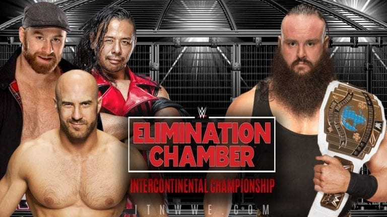 Braun Strowman To Defend IC Title In Handicapped Match at Elimination Chamber