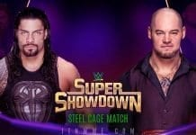 Roman Reign vs King Corbin- WWE Super ShowDown 2020