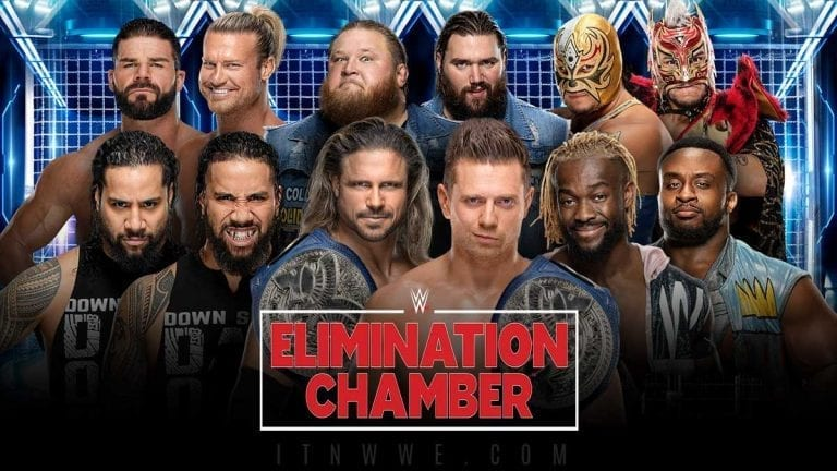 Tag Team Title Match Announced For Elimination Chamber 2020