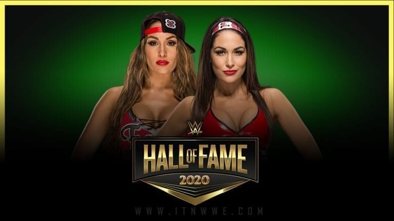 Bella Twins Confirmed for WWE Hall of Fame 2020