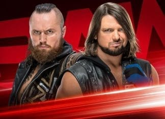 Aleister Black vs AJ Styles WWE RAW 2 March 2020