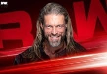 Edge Returns on WWE RAW 9 March 2020