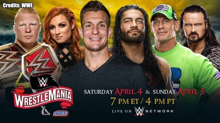 WWE WrestleMania 36 Turned to Two Nights, Rob Gronkowski to Host
