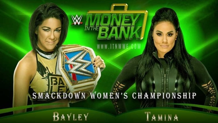 Tamina Gets Title Shot Against Bayley at Money In The Bank 2020