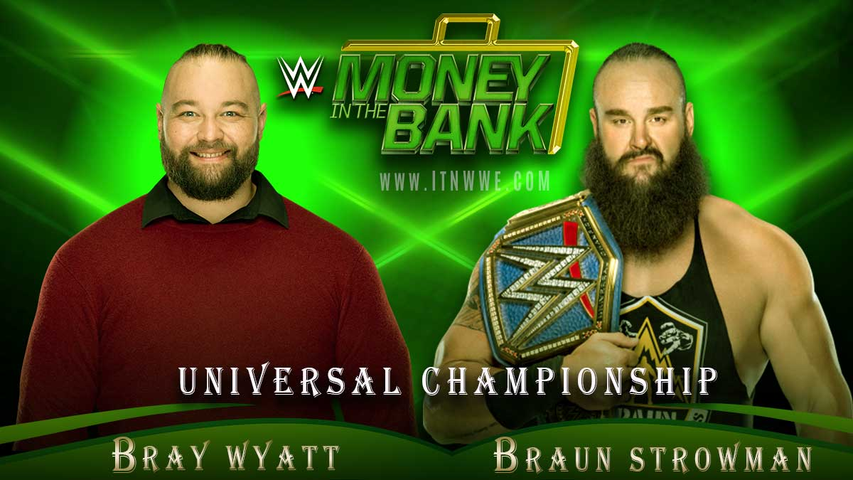 WWE Universal Championship Match, Money in the Bank 2020