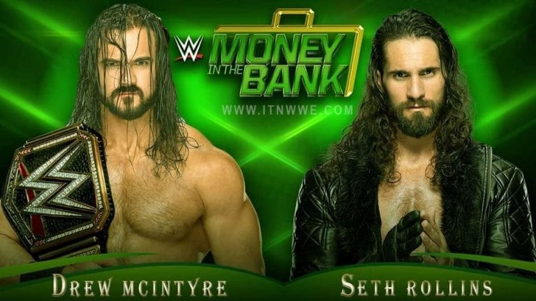 McIntyre vs Rollins Announced for WWE Money in the Bank 2020