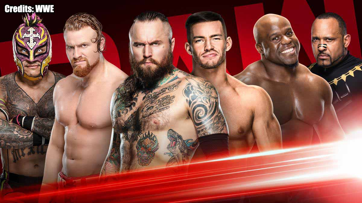WWE RAW Qualifiers for Money In The Bank 2020