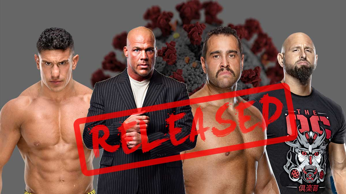 WWE Releases Superstars Amid COVID-19