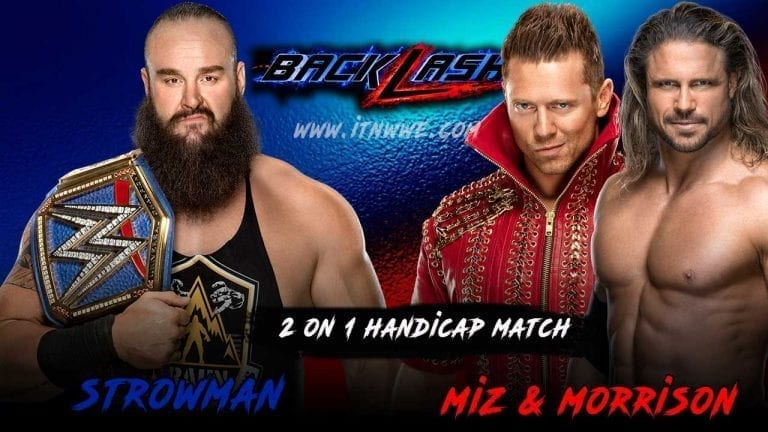 Strowman Handicapped Match Announced For Backlash 2020