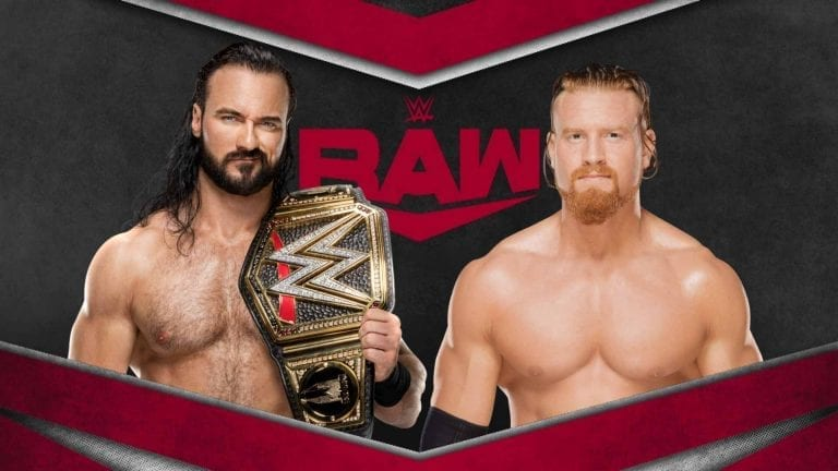 McIntyre in Action, Tag Matches Announced For RAW 4 May