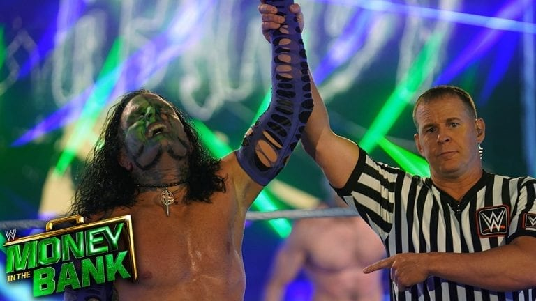Money In The Bank 2020- Jeff Hardy Pick Up a Win Over Cesaro