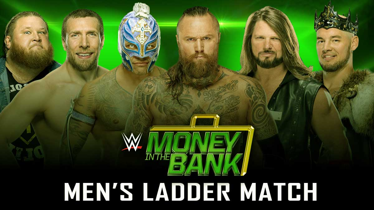 Men's Ladder Match Money In The Bank 2020