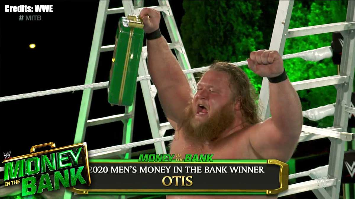 Asuka Money in the Bank Ladder