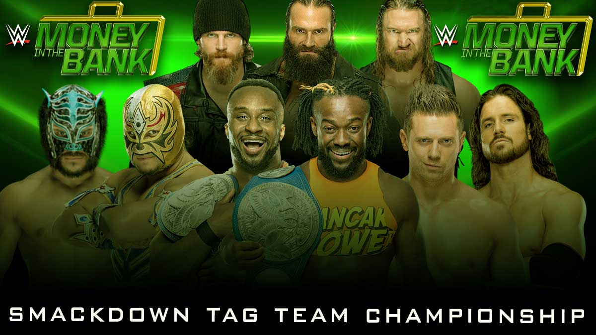 Smackdown Tag Team Championship money in the bank 2020