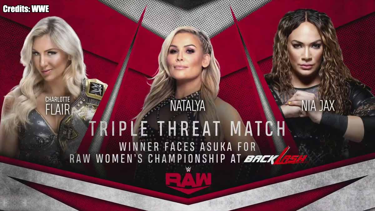 Contender Match WWE RAW 25 May