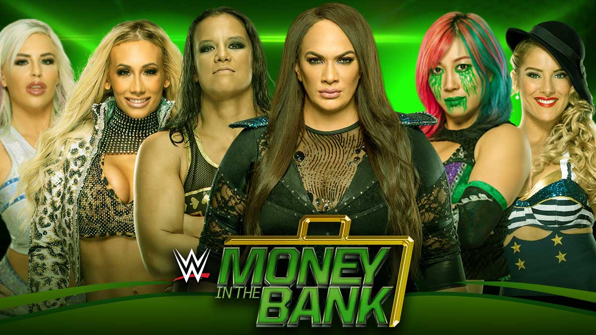 Women's Ladder Match Money In The Bank 2020
