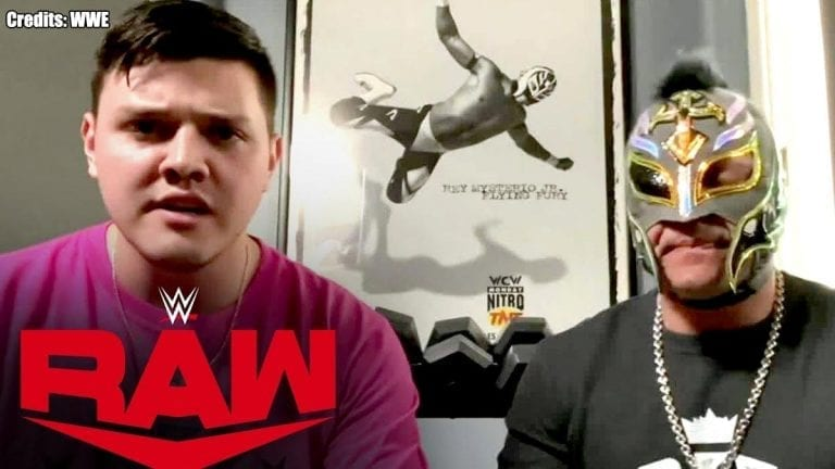 Dominick Mysterio Calls Out Seth Rollins on WWE RAW