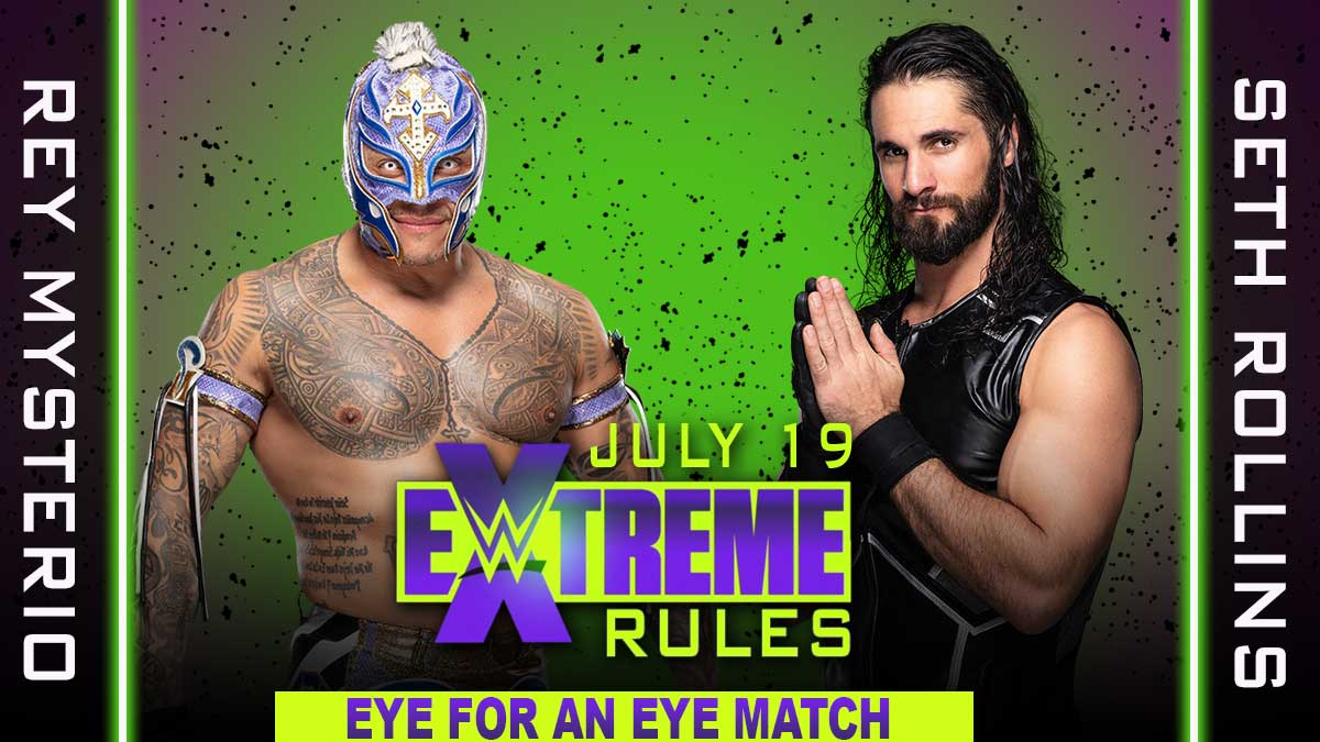 Seth Rollins vs Rey Mysterio  WWE Extreme Rules 2020