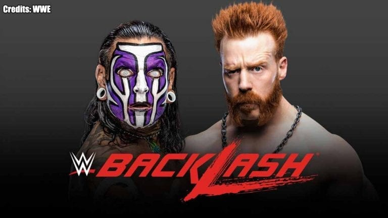 Jeff Hardy vs Sheamus Announced for WWE Backlash 2020