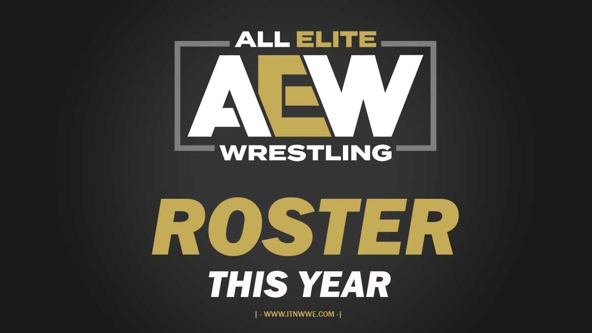 AEW Roster Poster
