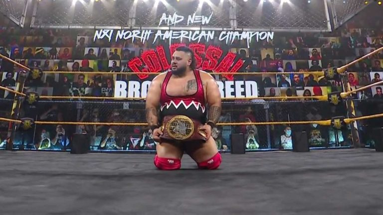 Former NXT Superstar Bronson Reed Becomes Free Agent on Different Date due to WWE's Mismanagement