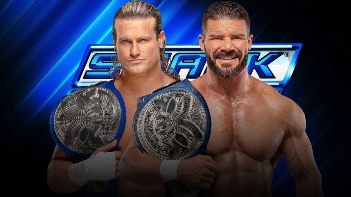 Dolph Ziggler & Robert Roodes Smackdown Tag Team Champions 2021