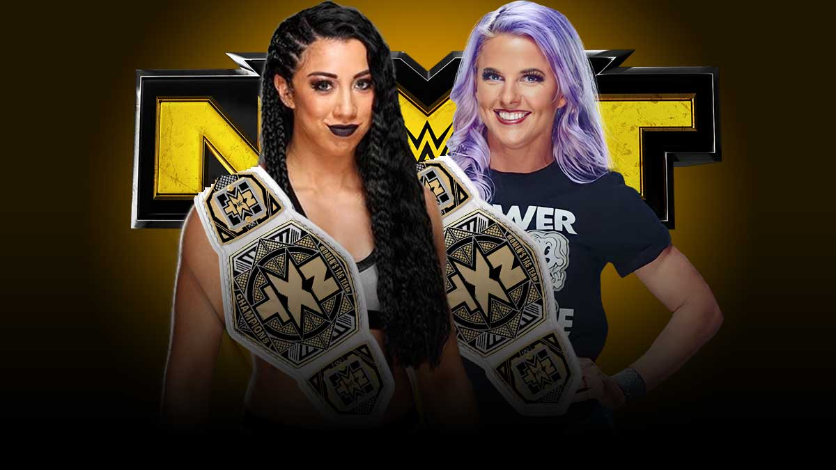 Indi Hartwell and Candice LaRae NXT Women's Tag Team Champions