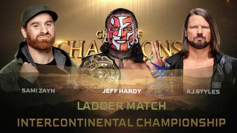 WWE Intercontinental Title Match Changed at Clash of Champions