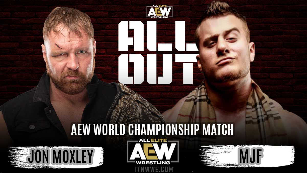 Jon Moxley vs MJF AEW All Out 2020