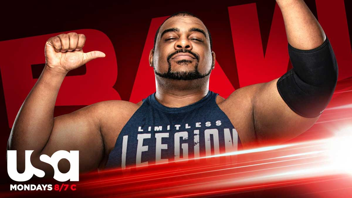 Keith Lee on RAW 24 August 2020