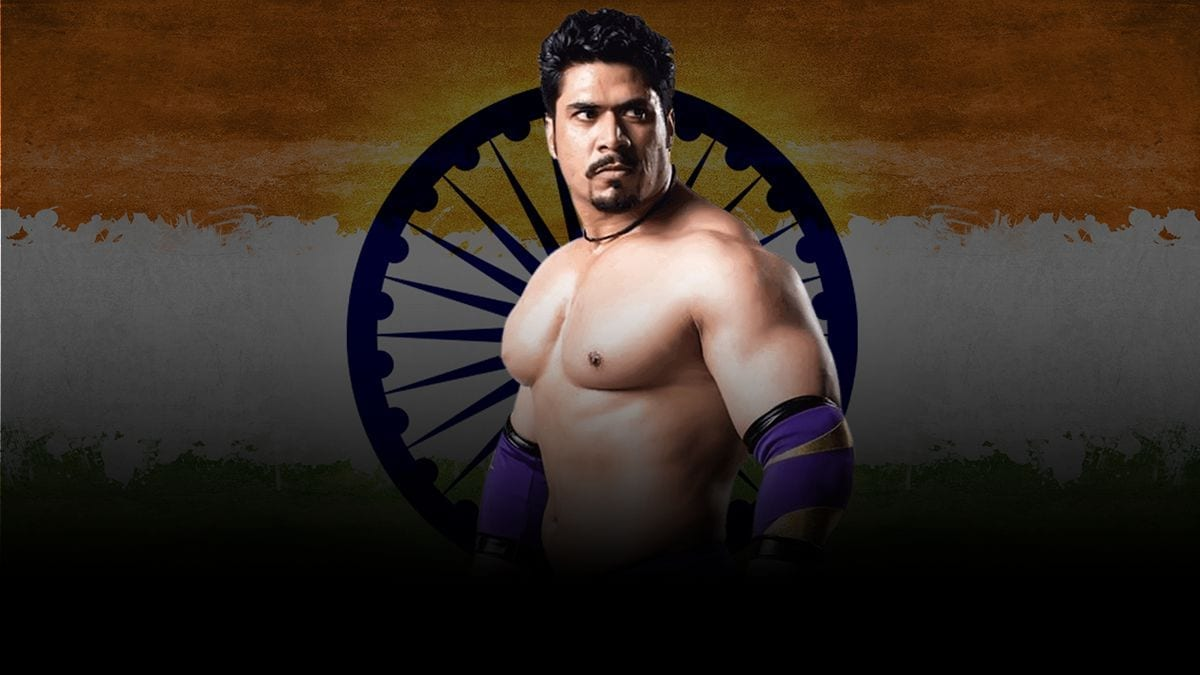 Mahabali Shera Indian WWE Wrestler