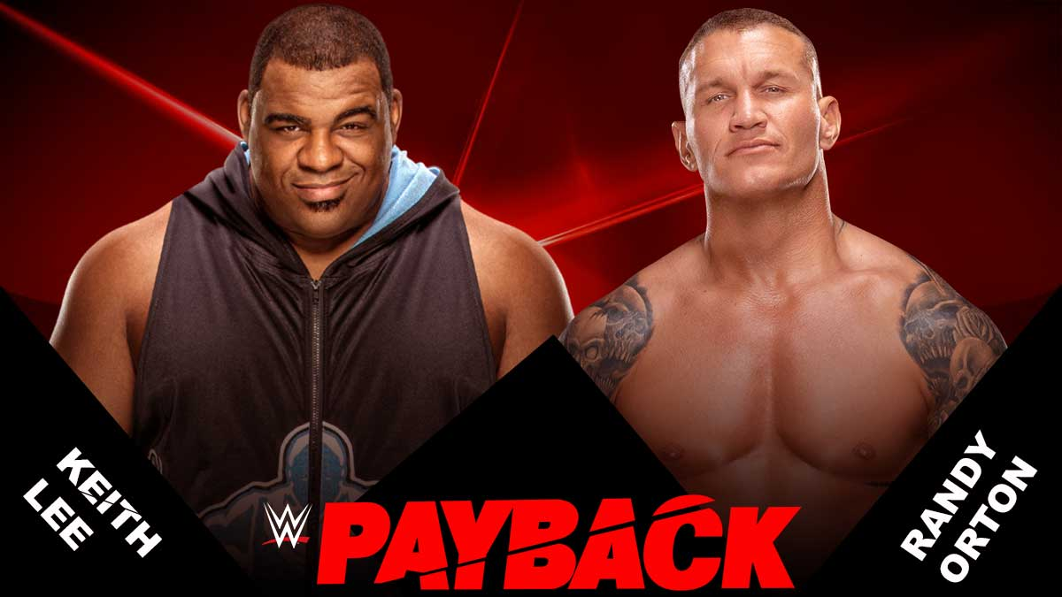 Randy Orton vs Keith Lee WWE Payback 2020