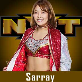 Sarray WWE NXT Roster