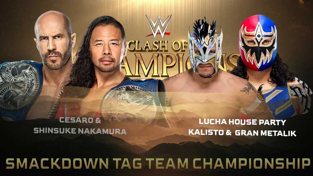 WWE SmackDown Tag Team Championship WWE Clash of Champions 2020