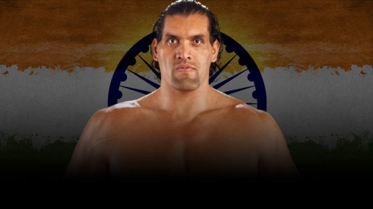 The Great Khali to be Inducted to WWE Hall of Fame 2021