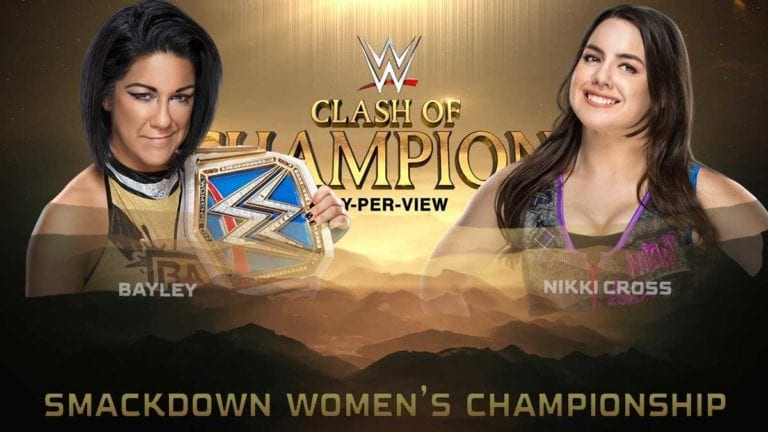 Bayley vs Nikki Cross Fixed for Clash of Champions