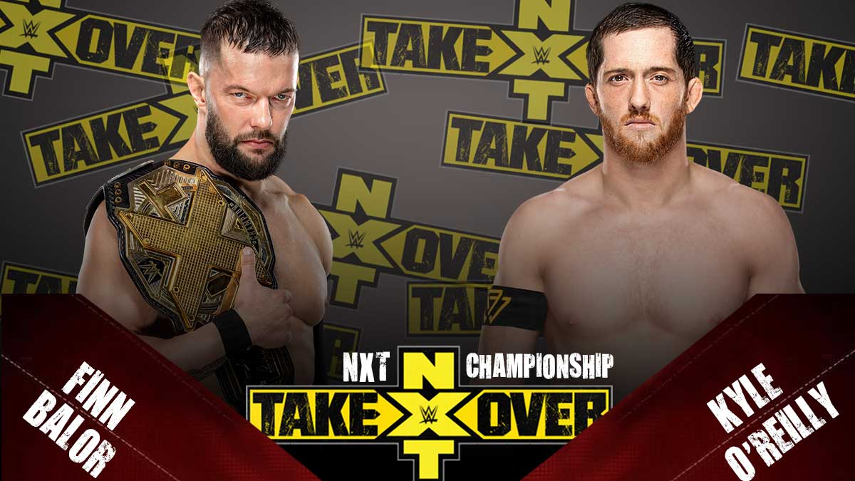 Finn-balor-vs-Kyle-O'Reilly-NXT-Championship-NXT-Takeover-31-(2020)