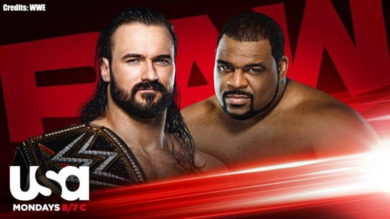 Drew McIntyre vs Keith Lee & Steel Cage Match Announced for RAW