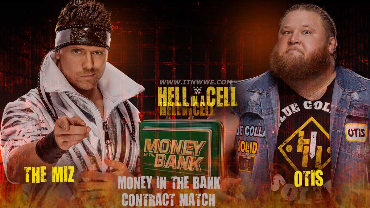 Otis vs The Miz Money In The Bank Cntract Match at Hell In A Cell  2020