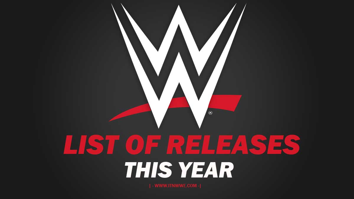 WWE Releases year