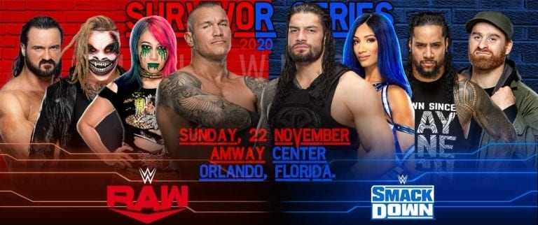 WWE Survivor Series 2020 Preview, Predictions, Start Time