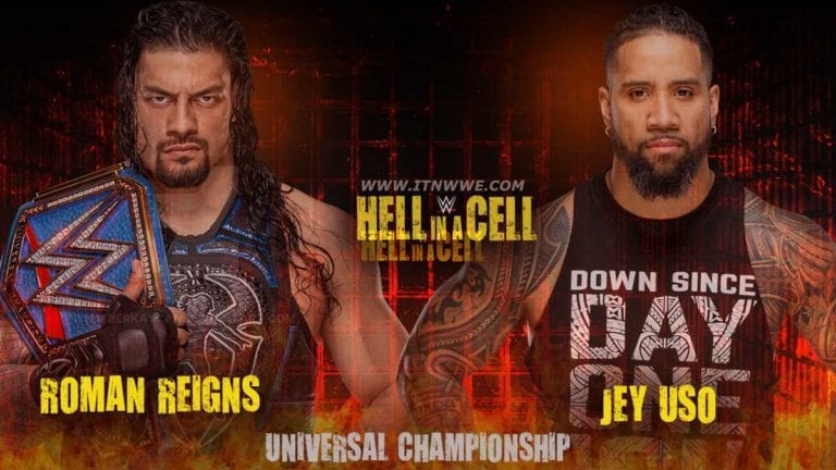 Roman Reigns vs Jey Uso Announced for Hell in a Cell 2020