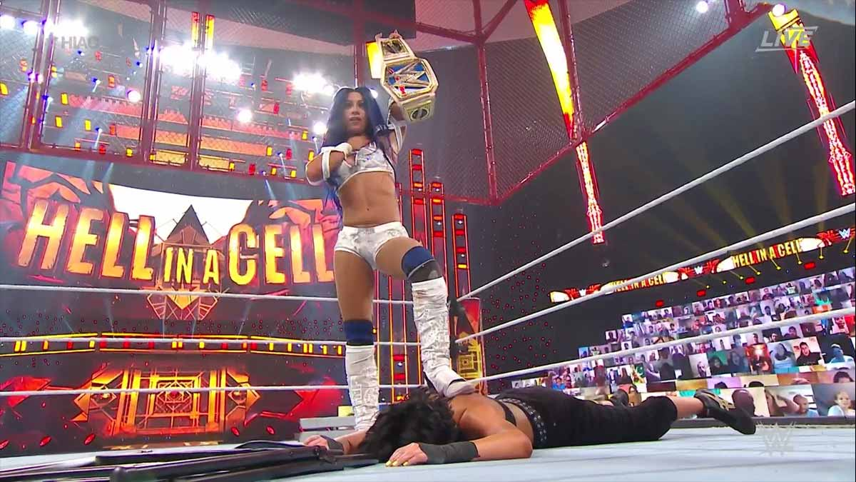 Sasha Banks WWE Hell in a Cell 2020