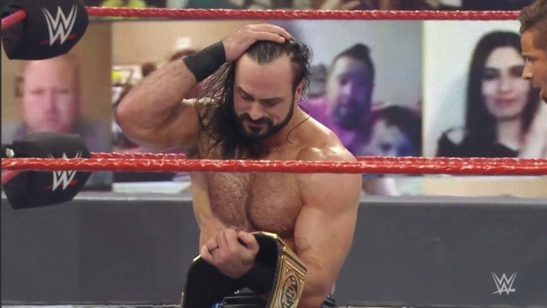 Drew McIntyre Wins Back WWE Title, Set to Face Roman Reigns