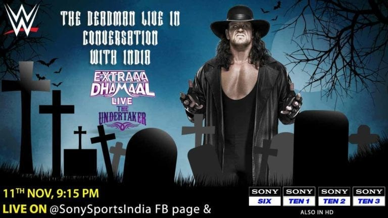 Undertaker (Exclusive) Interview With Sony India